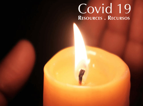 Resources for Ministry during Covid-19 Crisis . Recursos para la Pastoral durante la Crisis de Covid-19