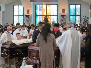 Two Victims of Mass Shooting Laid to Rest