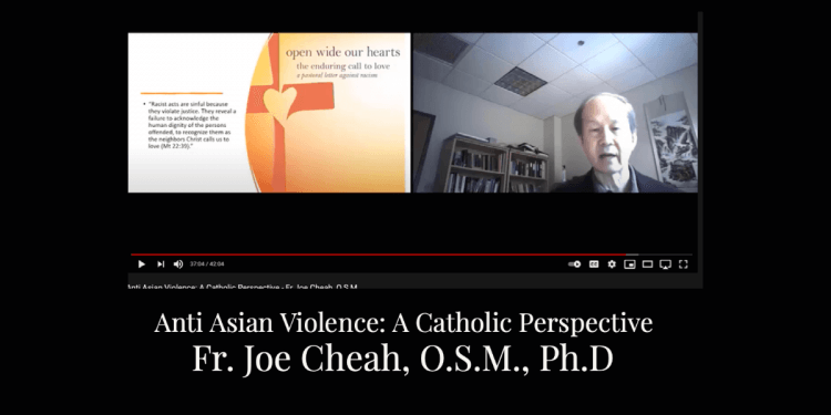 Anti Asian Violence: A Catholic Perspective